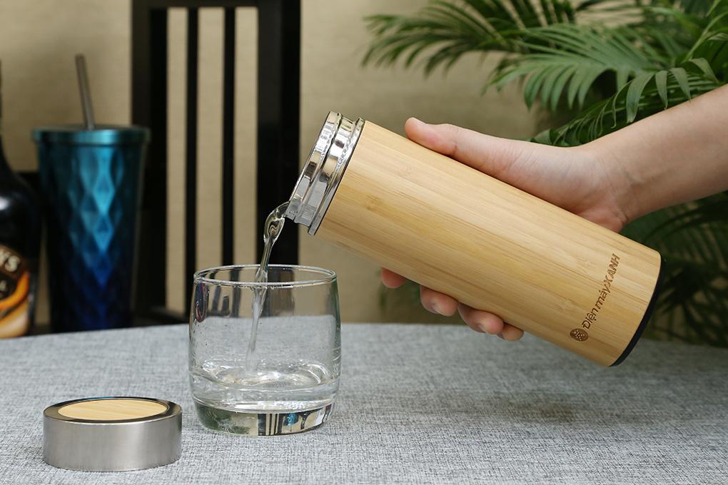 Bình giữ nhiệt gỗ
